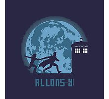 "Doctor Who ""Allons-y"" 10th Doctor Photographic Print"