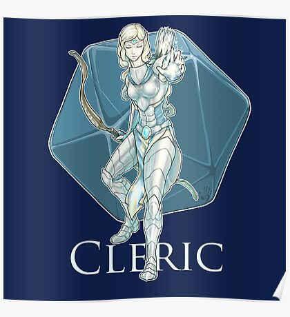Dungeons and Dragons Cleric Poster