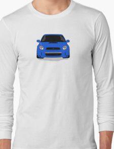 Blue WRX Vector Long Sleeve T-Shirt