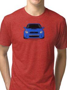Blue WRX Vector Tri-blend T-Shirt