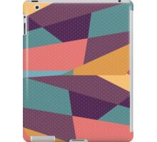 Modern Abstract Tangram and Dots Pattern iPad Case/Skin