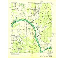 USGS TOPO Map Alabama AL Farley 303815 1936 24000 Photographic Print