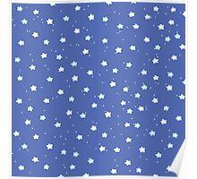 Starry Night pattern Poster