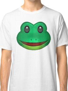 Frog Face Emoji Classic T-Shirt