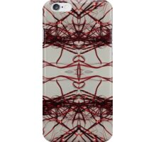 Red Streamers Repeating iPhone Case/Skin
