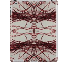 Red Streamers Repeating iPad Case/Skin