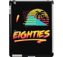 Retro Lovin' (I Love the 80s) iPad Case/Skin