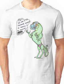 Emotionally Distressed Reptile Man. Unisex T-Shirt