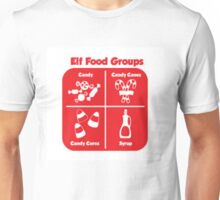 Elf Food Groups Unisex T-Shirt