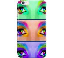"""EYES TELL it ALL"" Art Deco Print iPhone Case/Skin"