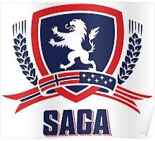 SAGA Official Merchandise  Poster