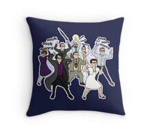 John, is it too late now to say sorry? Throw Pillow