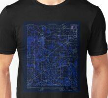 USGS TOPO Map Alabama AL Trinity 305242 1936 24000 Inverted Unisex T-Shirt