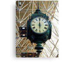 Milwaukee Clock Canvas Print