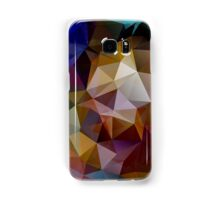 Abstract background of triangles, polygon wallpaper in retro bright colors. Samsung Galaxy Case/Skin