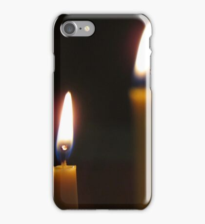 Candles Aglow iPhone Case/Skin