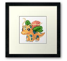 Pokéfusion: Dragonysaur Framed Print