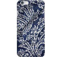 Blue Paisley  iPhone Case/Skin