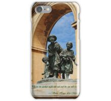 Les Gavroches, Valletta, Malta iPhone Case/Skin