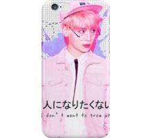 SHINee Jonghyun - Pink Design iPhone Case/Skin