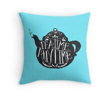 tea time any time Throw Pillow