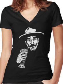 I Drink Your Milkshake (I drink it up) Women's Fitted V-Neck T-Shirt