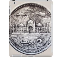 Two Rupees Pakistani Coin iPad Case/Skin