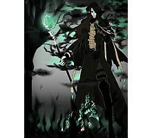 Emerald Daemon Photographic Print