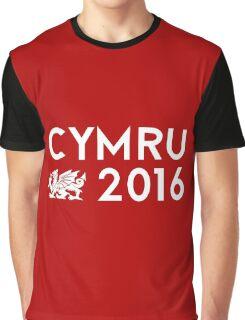Cymru 2016 Graphic T-Shirt