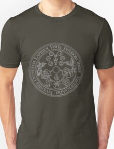 Emerald Tablet - Alchemy - Philosopher's Stone Unisex T-Shirt