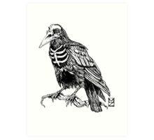 Skelecrow Art Print