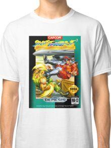 Street Fighter II Sega Cartridge Classic T-Shirt