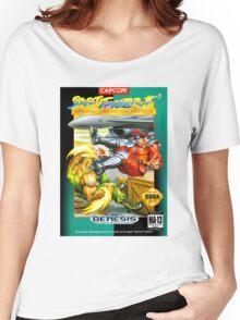 Street Fighter II Sega Cartridge Women's Relaxed Fit T-Shirt