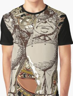 Tweedledum & Tweedledee Carnivale Style - Gold Version Graphic T-Shirt