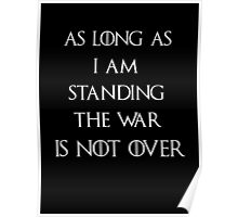 Game of thrones The War is not over Poster