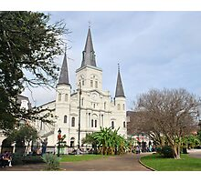 A December Day in Jackson Square Photographic Print