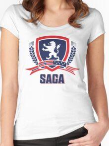 SAGA Official Merchandise  Women's Fitted Scoop T-Shirt