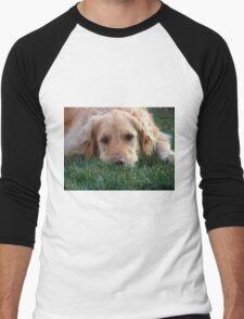 Gracie Pouts Men's Baseball ¾ T-Shirt