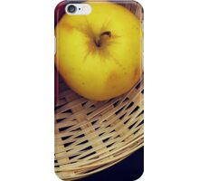Basket Still Life iPhone Case/Skin