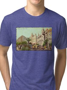 Black Crown Hotel - Outdoor Tri-blend T-Shirt