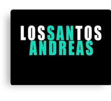 Los Santos - San Andreas Canvas Print