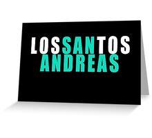 Los Santos - San Andreas Greeting Card