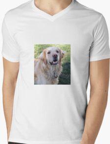 Gracie Girl Mens V-Neck T-Shirt