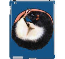 Black Hooded Rat iPad Case/Skin