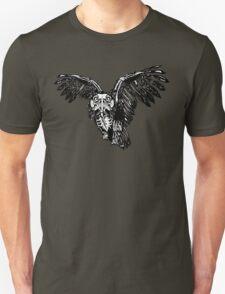 Skeletowl BW Unisex T-Shirt