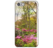 The Azalea Garden iPhone Case/Skin