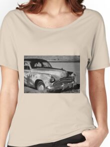 1949 Buick Eight Super I BW Women's Relaxed Fit T-Shirt