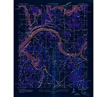 USGS TOPO Map Alabama AL Triana 305232 1936 24000 Inverted Photographic Print