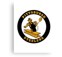 PITTSBURGH STEELERS CLASSIC LOGO Canvas Print