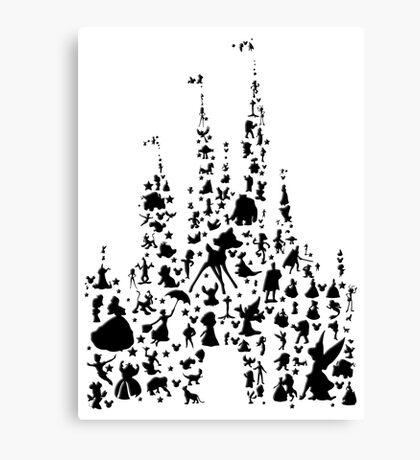 Happiest Castle On Earth Canvas Print